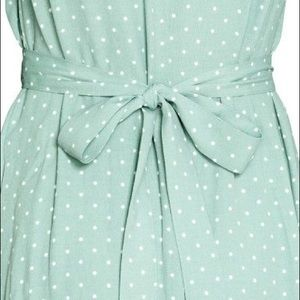 H&M Dresses - H&M Mint Dot Dress